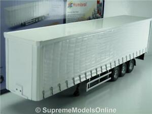 Corgi-Curtainside-Remolque-Blanco-CC19910-Tri-Eje-camion-1-50-camion-moderno-T31Z