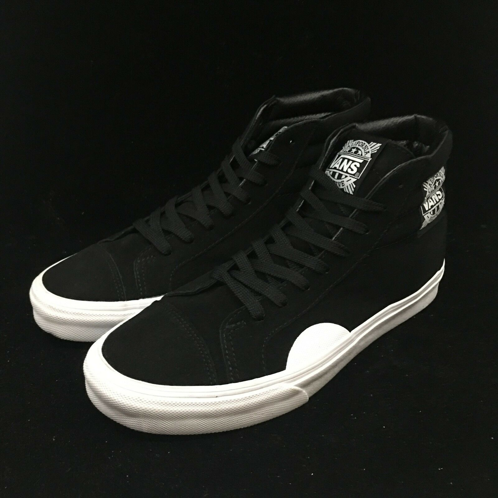 Vans Style 238 Native Black White High Top Suede VN0A3JFIQXP