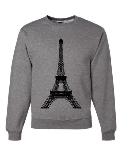 Eiffel Tower Sweatshirt Paris France Sightseeing Travel Europe Sweater