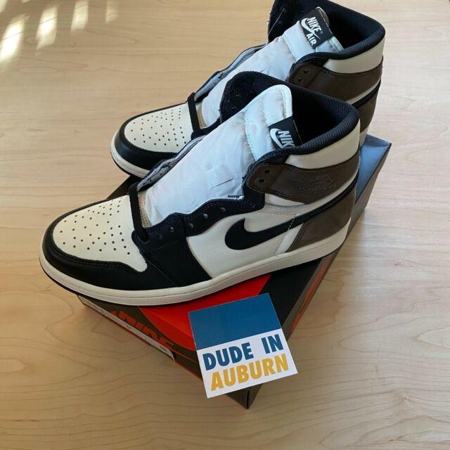 Jordan 1 Retro High OG Mocha Brown -Size 9.5 - New w/ Box DS