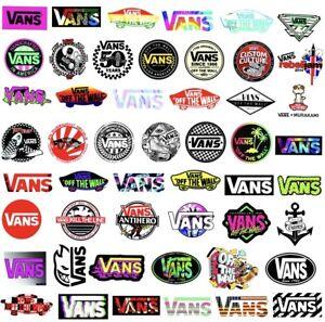 Vans Skateboarding Skate Stickers 20 Pack. - Vinyl Skate - Laptop ...