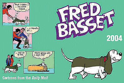 """AS NEW"" Fred Basset 2004, Graham, Alex, Book"