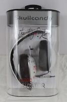 Skullcandy Aviator Mic'd Headphones Roc Nation White Ting Tings Artwork