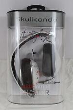 New Skullcandy Aviator Mic'd Headphones Roc Nation White Ting Tings Artwork