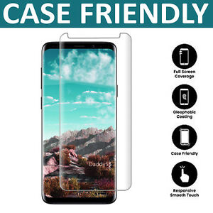 For Samsung Galaxy S9 3D Full Curved Tempered Glass LCD Screen Protector Clear 788537788386