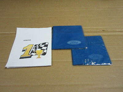 Genuine Ford OEM Screen Wipe Cleaning Cloth Brand New Sealed Blue BT4JM99H92AA