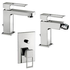 Paffoni effe set rubinetteria da bagno completa lavabo bidet e doccia da incasso ebay - Rubinetteria lavabo bagno ...