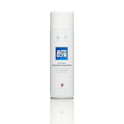 AUTOGLYM HI-FOAM INTERIOR SHAMPOO 450ML UPHOLSTERY CLEANER