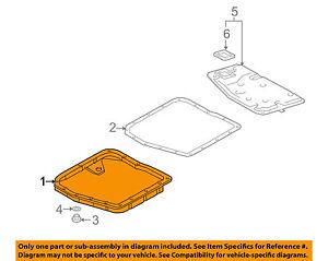 image is loading lexus-toyota-oem-99-01-es300-transmission-pan-