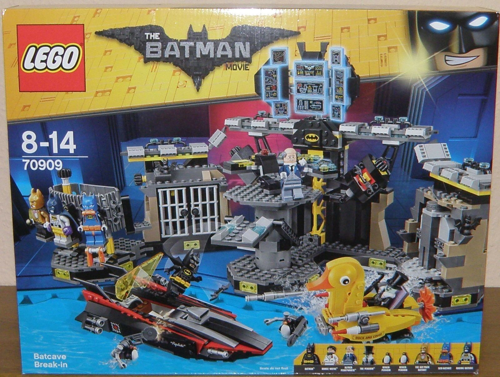 Lego The Batman Movie 70909 Batcave-Einbruch NEU OVP NEW original Box
