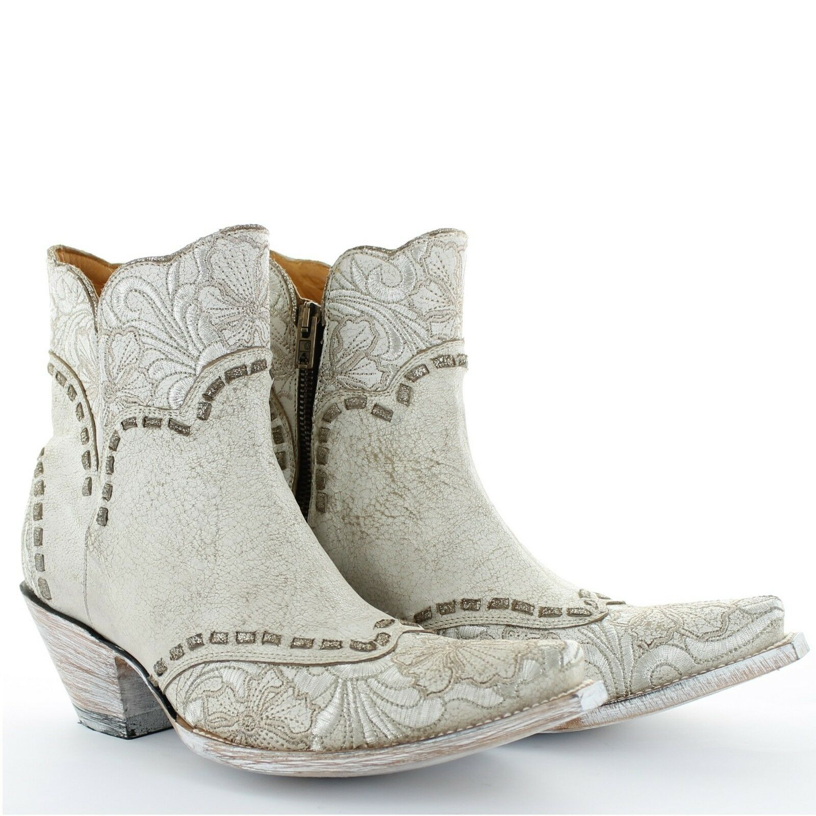 Old Old Old Gringo Ladies Erin Short Bone Western Boots BL3084-2 368156