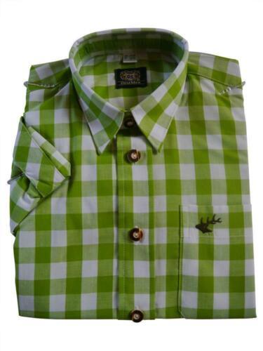 Trachtenhemd grün kariert NEU Karohemd für Kinder OS TRACHTEN Fb