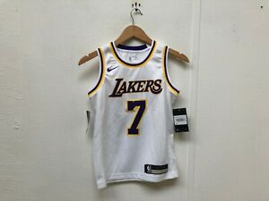 official photos aba19 db98b Details about Nike Kid's LA Lakers NBA Association Jersey - 8 Years - McGee  7 - White - New