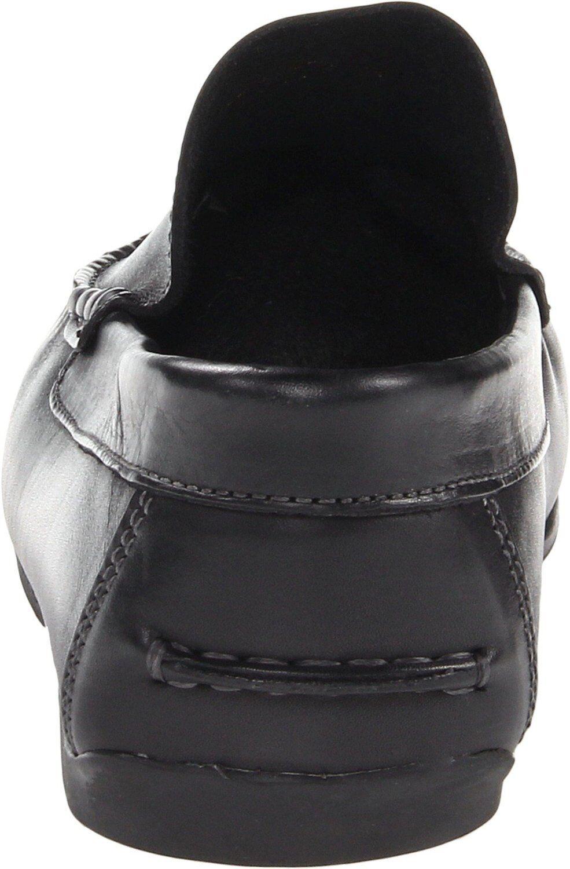 Florsheim Men's Black 14142 Jasper Venetian Black Men's Leather Slip-On Loafer 9e2e88