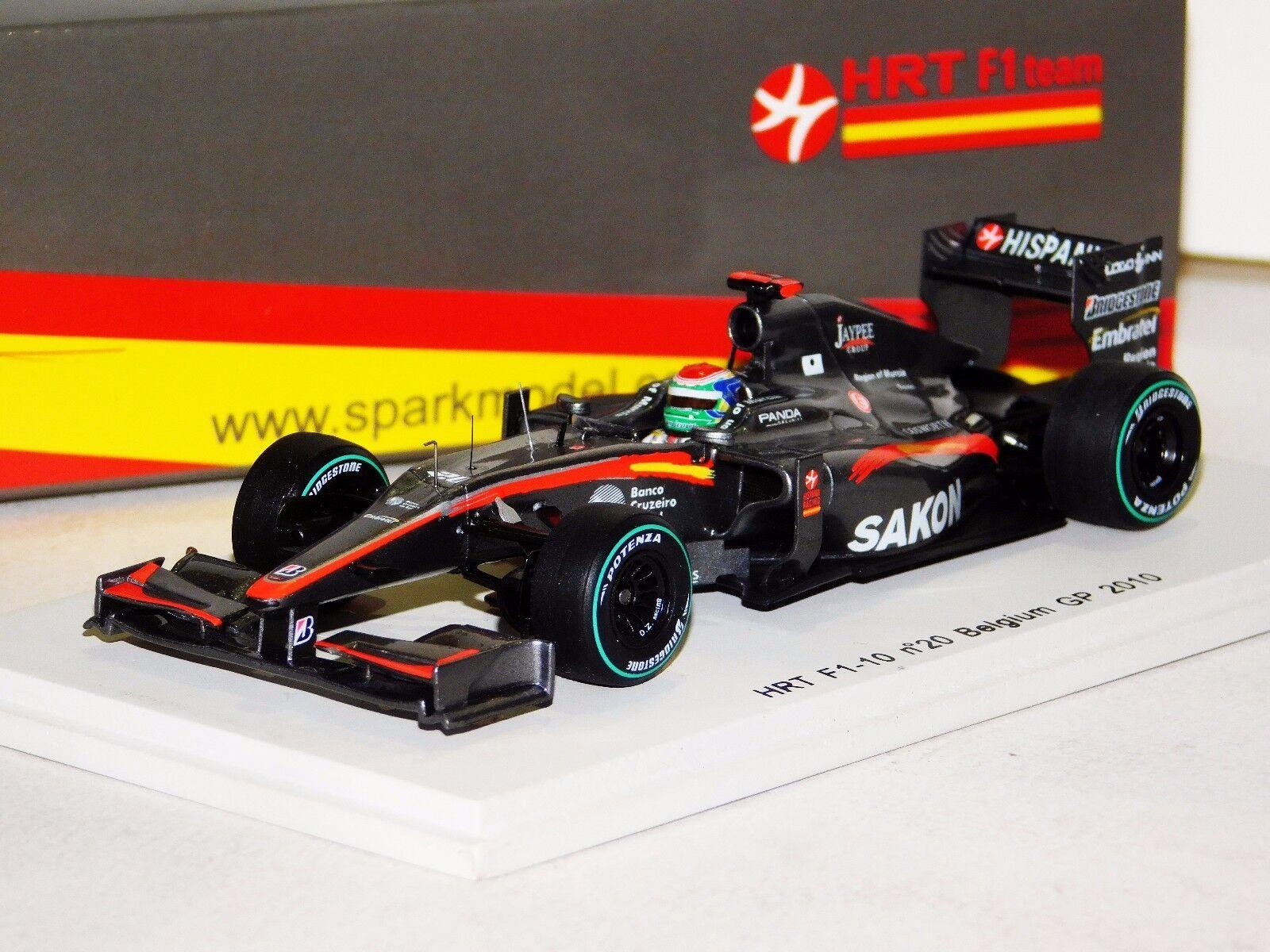 Hrt F1 Yamamoto Bélgica Grand Prix 2010 Spark S3011 1 43