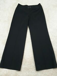 Ann-Taylor-Loft-Woman-Size-10-Black-034-Ann-034-Career-Office-Wear-Dress-Pants-Cuffed
