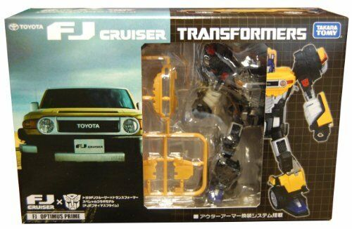 NEW FJ Optimus Prime TOYOTA Cruiser Transformers Robots F S