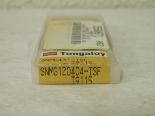 Details about  /Tungaloy Carbide Turning Inserts 8 Pack SNMG431 TSF T9115 Grade 6862472