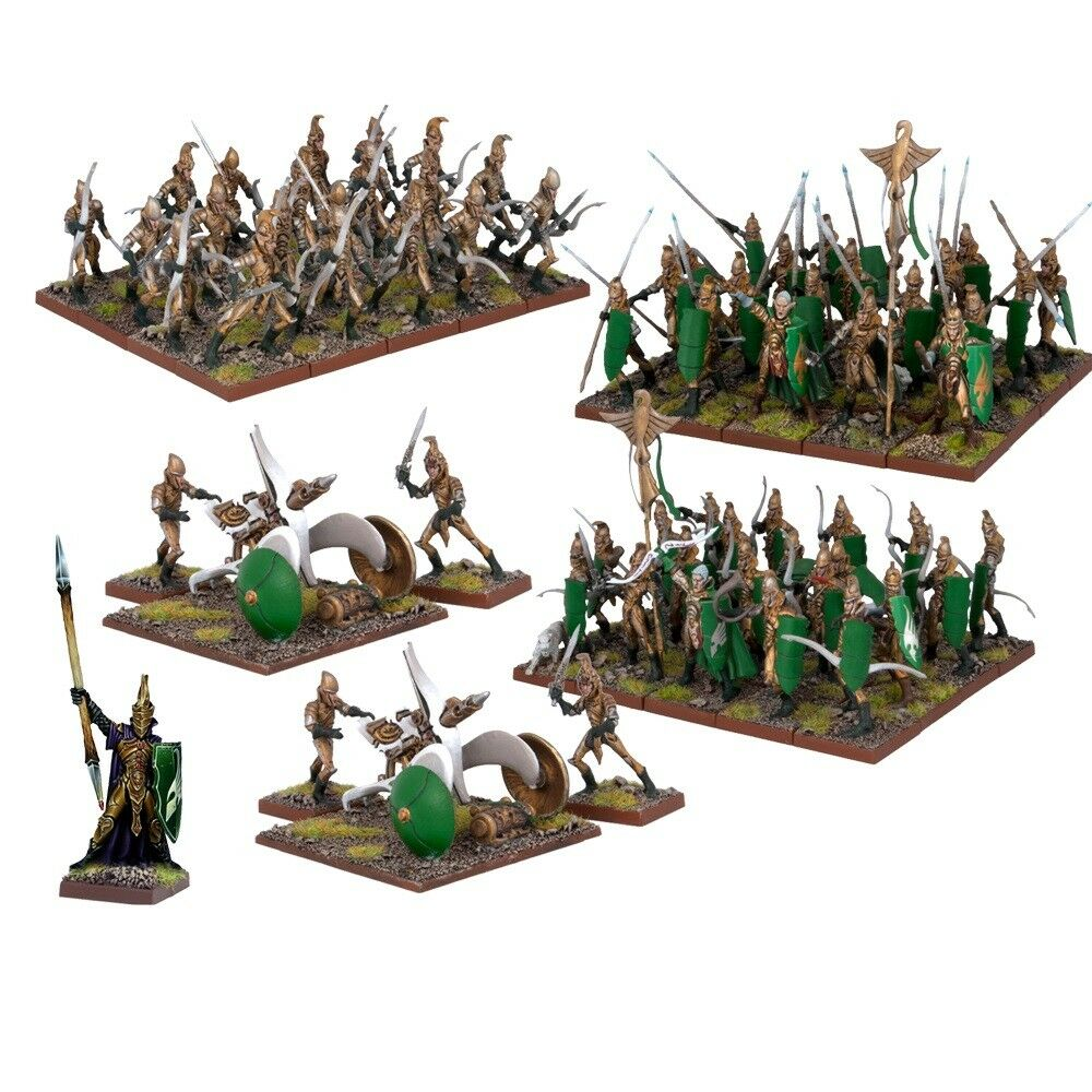 Mantic Games Kings of War Elf Army BNIB MGKWE110