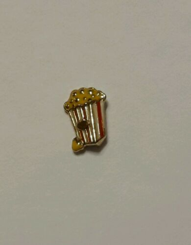 New Authentic Origami Owl Current Popcorn Bucket Charm