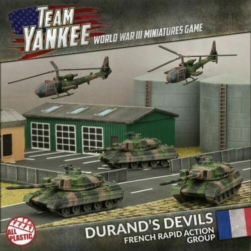 Flames of War-equipo Yankee  francés  Durant's Devils Ejército Caja (tfrab 1)