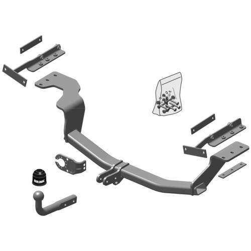 T31 Swan Neck Tow Bar Brink Towbar for Nissan X-Trail 2007-2014
