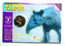 25 sen coin card 2003 (Tapir Malaya)