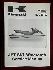 service manual kawasaki 2004 900 stx jt900 e1 jetski k536 ebay rh ebay com kawasaki 900 stx owners manual kawasaki 900 stx repair manual