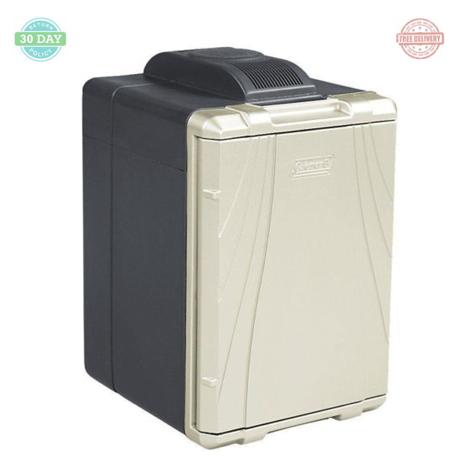 Chest Thermoelectric Iceless Cooler Food Drinks Portable Small Refrigerator 40Qt