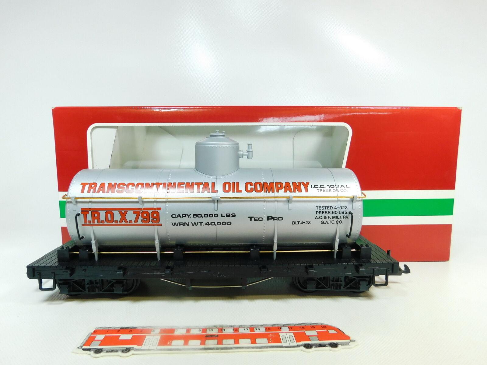 Br97-3 LGB Escala G   Iim   Dc 4080 - y 01 Vagón de Depósito de EE.UU.
