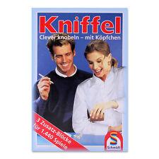 Kniffel Blöcke Yatzy Würfel Kniffelblock Würfelspiel für jung und alt
