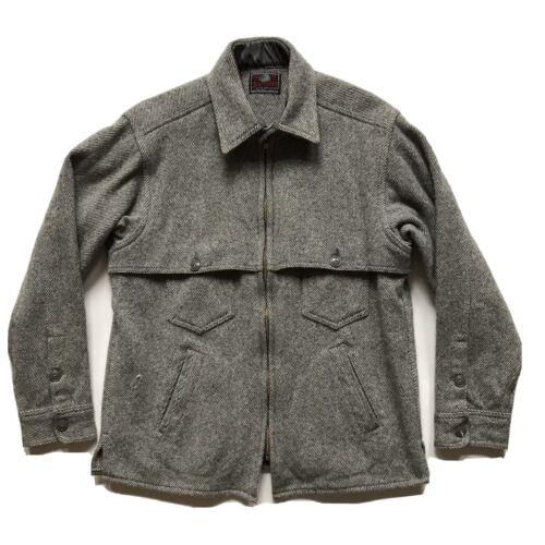 Johnson Woolen Mills Jac Shirt Mens Sz Sm/Med Made