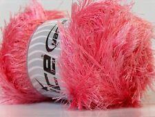 LG 100 gram Burgundy Eyelash Yarn #22717 Ice Fun Fur 164 Yards