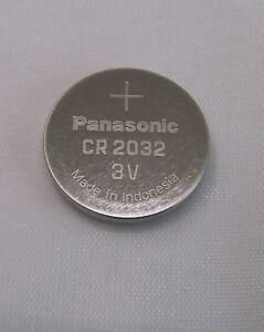 10x-CR2032-Knopfzelle-3V-Batterie-Panasonic-im-Plastetray