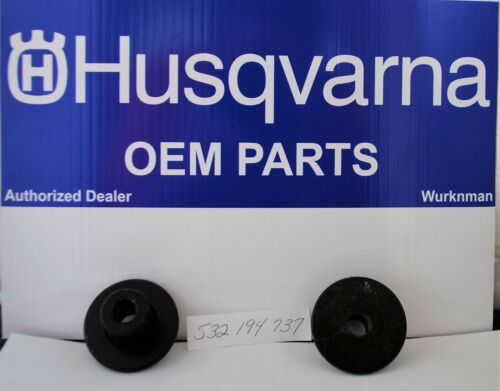 2 Genuine OEM Husqvarna 532194737 Front Axle Bushings also  Craftsman 194737