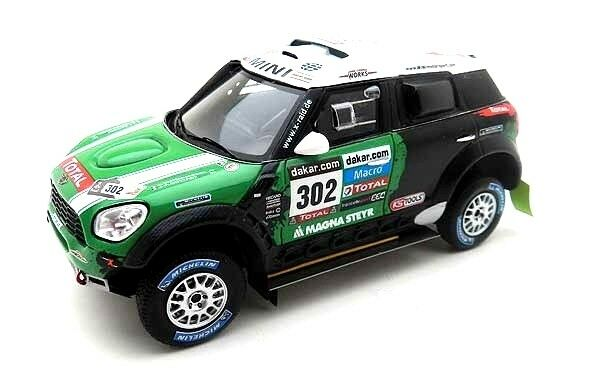 Mini Countryman  302 Winner Dakar 2013 S. Petrhansel   J.P. Cottret 1 43 Model  | Fuxin