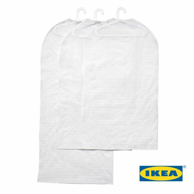 Ikea Svajs Transpa White Clothes