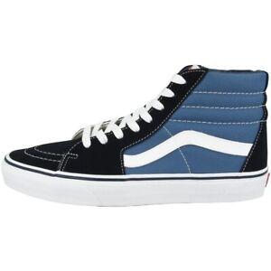 Details zu Vans SK8 HI Schuhe Freizeit Sport High Top Sneaker Skaterschuhe navy D5INVY