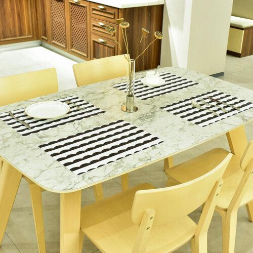 2Stk Streifen Platzdeckchen Platzdecke Tischset Platzset Tischmatte Platzmatten