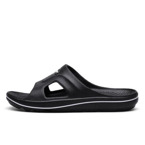 Mens Slip On Sandals Shower Summer Slippers Flip Flops Casual Walking Size Flat