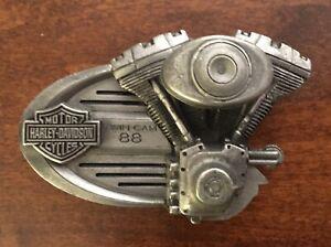 23a4b5678d1 La foto se está cargando Harley-Davidson-Twin-Cam -88-Motocicleta-Hebilla-del-
