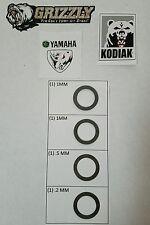 Yamaha Rhino Kodiak Grizzly SUPR KIT 350 450 700 550 660 400 600 shim clutch mod