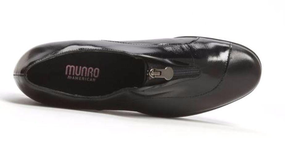 Munro Munro Munro Mujer Negro Cuña de debut 4352 SS b1d12a