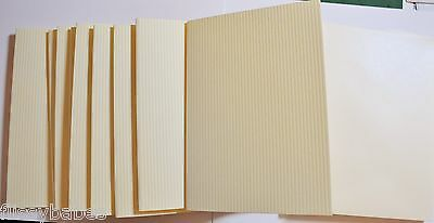 """10 S//F Card Blanks Antique Silver /& Pearl Silver Env Finished Size 6/"""" x 4/"""" NEW"""