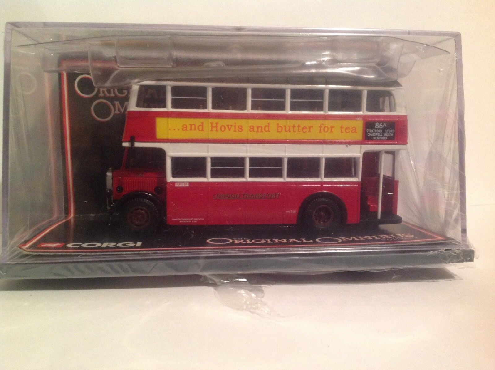 OM43907 Guy Arab Untilty Bus London Transport LTD 0002 of 4000