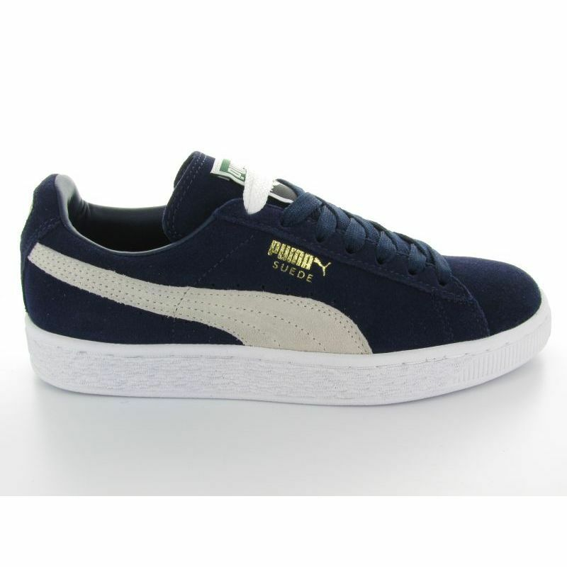Cheap Nice SUEDE CLASSIC NAVY WHITE on the sale