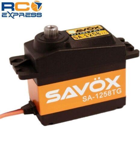 Savox Standard Size Coreless Digital Servo .08/166 SAVSA1258TG