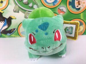 Pokemon-Center-Bulbasaur-Canvas-Plush-2011-Pokedoll-Poke-Doll-Stuffed-figure-toy