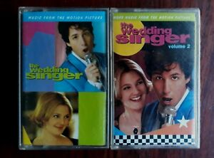 The Wedding Singer 1 2 Movie Soundtrack 2x Cassette Tapes Indonesia Ebay