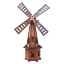 Wooden-Garden-Windmill-Large-85-cm-235-cm-Wood-Windmills-Garden-Ornaments thumbnail 23